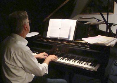 Recording at Sean Swinney's studio in NY