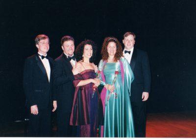 Performing on a cruise to Bermuda with dear friends John Bellemer, Sarah Blaze, Maria Gabriella Landers and Brian Dore
